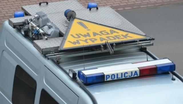 Wypadek na krajowej ósemce w Wilczkowicach. Zdjęcie ilustracyjne.