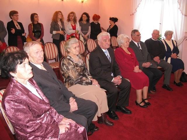 Złote Gody 4 par małżeńskich - USC Miastko
