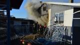 W Lipinach na Nowosolnej w budynku z ozdobami świątecznymi wybuchł pożar