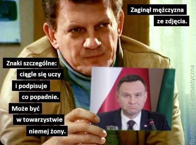 Andrzej Duda zniknął w ostrym cieniu mgły? Gdzie jest prezydent - pytają internauci w memachZobacz kolejne zdjęcia. Przesuwaj zdjęcia w prawo - naciśnij strzałkę lub przycisk NASTĘPNE