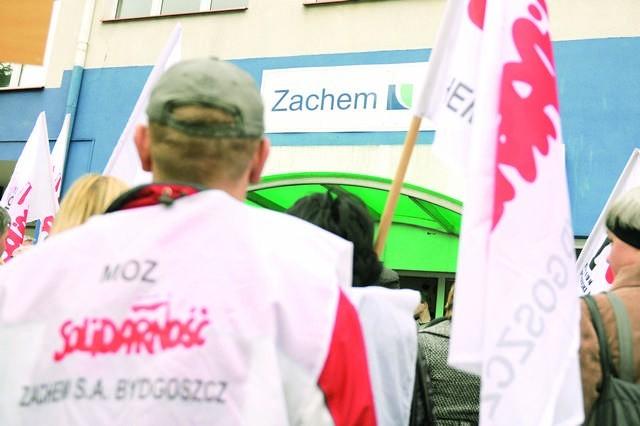 W listopadzie wypowiedzenia dostało 29 pracowników Zachemu, na początku grudnia otrzyma je kolejne 29, potem 511...