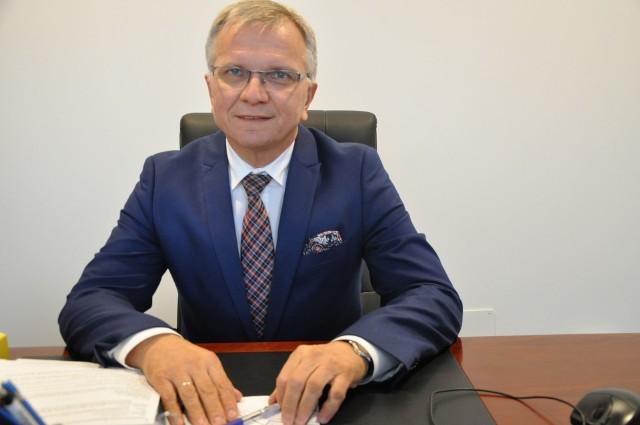 Jarosław Kielar, burmistrz Kluczborka.