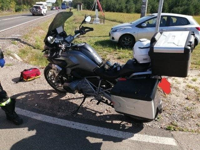 Wypadek w Antoniach, 24.08.2019