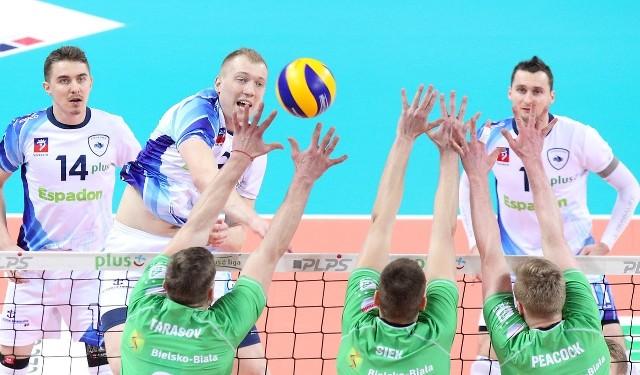 Siatkarze Espadonu Szczecin nieoczekiwanie przegrali na swoim parkiecie z BBTS.