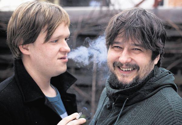 Maciej Kwiatkowski (z lewej) i Ścibor Szpak: Kraków to polska stolica kabaretu artystycznego i zabawnego zarazem