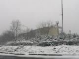 Zima wróciła do Sandomierza! Mimo połowy kwietnia zrobiło się biało i ślisko. Zobaczcie zdjęcia