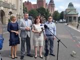 """Konferencja Nowej Lewicy w Szczecinie. """"Jesteśmy jednością, nie współpracujemy z PiS"""" 19.07.2021"""