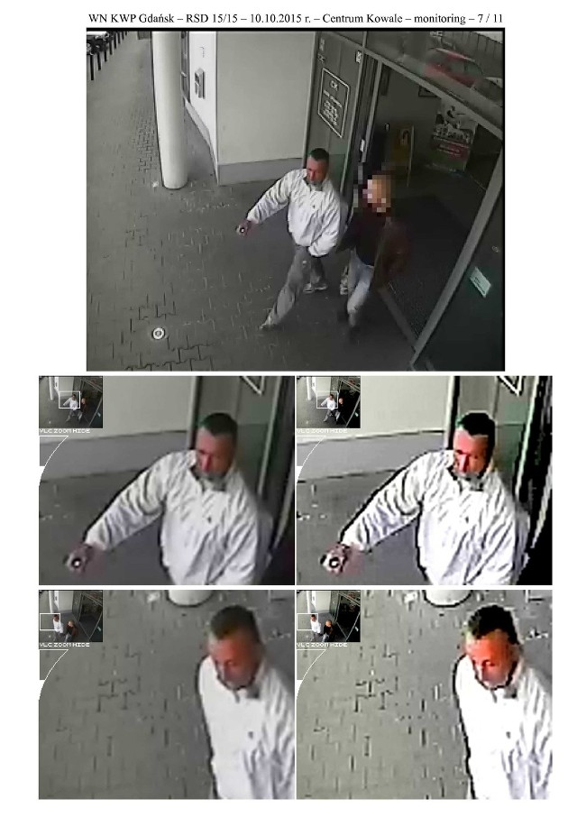 Policja poszukuje mężczyzny, który porusza się żółtym fiatem stilo
