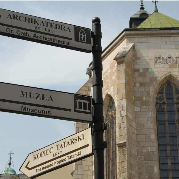 Rezerwat kultury romańskiej w podziemiach XIV-wiecznej bazyliki archikatedralnej były kolejną atrakcją turystyczną Przemyśla.