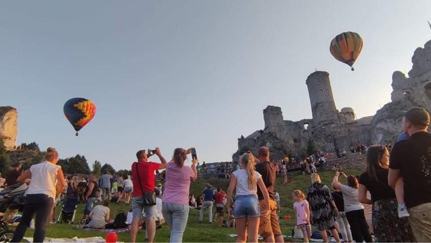 II Zamkowa Fiesta Balonowa - tłumy obserwowały wyścig...