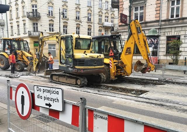 Remont węzła Lubicz-Rakowicka przysporzy kierowcom a przede wszystkim pasażerom sporo problemów w poruszaniu się po centrum Krakowa
