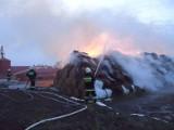 """Wielki pożar zakładów """"Zbyszko"""" w Bedoniu. Ktoś zastrasza biznesmena"""