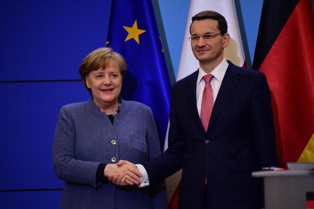 Premier Morawiecki ma dziś rozmawiać z kanclerz Niemiec o wychodzeniu z kryzysu gospodarczego