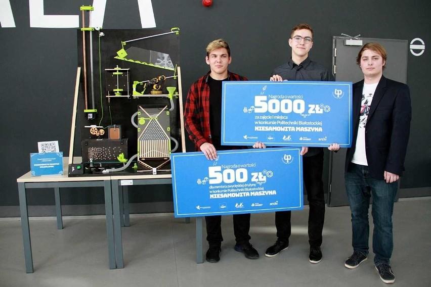 Zobacz Niesamowite Maszyny. Konkurs na Politechnice Białostockiej