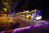 Wyciek gazu w Katowicach. Ewakuowano mieszkańców dwóch domów. Ulica Mikołowska była zamknięta dla ruchu ZDJĘCIA