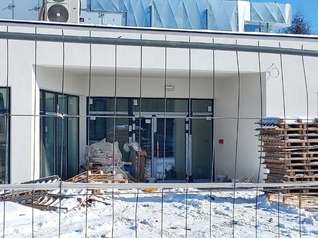 Parterowy budynek Centrum Zdrowia Psychicznego ma być gotowy na przełomie lipca i sierpnia 2021 roku.