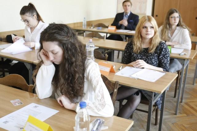 Matura 2018. Międzynarodową maturę z języka polskiego zdawali uczniowie IV Liceum Ogólnokształcącego w Łodzi
