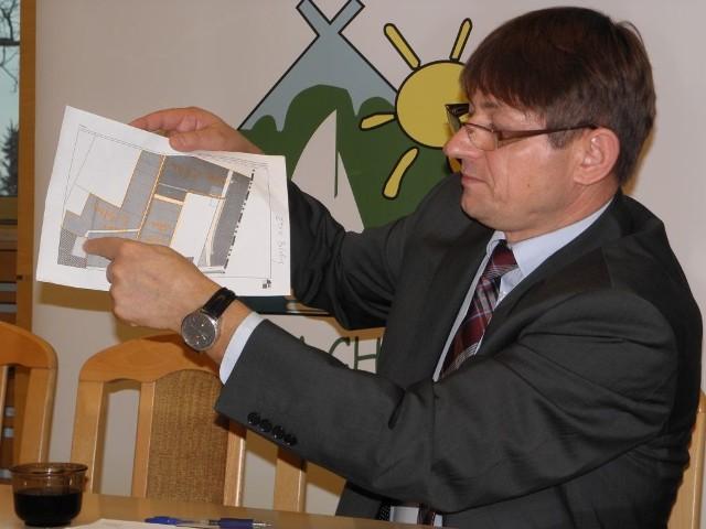 Wójt Zbigniew Szczepański ma nadzieję, że strefa zacznie tętnić życiem