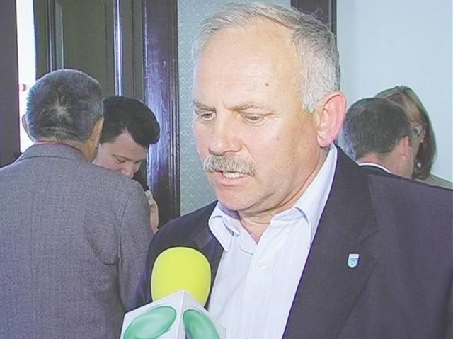 Burmistrz Józef Rubacha zapowiada odwołanie do Ministerstwa Ochrony Środowiska. Liczy, że kara zostanie zmniejszona (fot. Małgorzata Trzcionkowska)