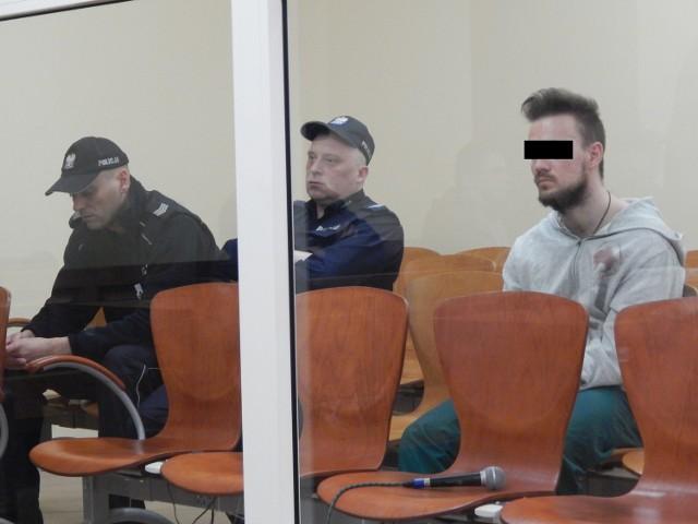Maciej M. został skazany prawomocnym wyrokiem.