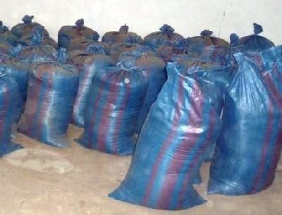 Policjanci, funkcjonariusze ABW i celnicy znaleźli 7 ton nielegalnego tytoniu.