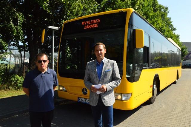 Żółty autobus będzie kursował także na Zarabie