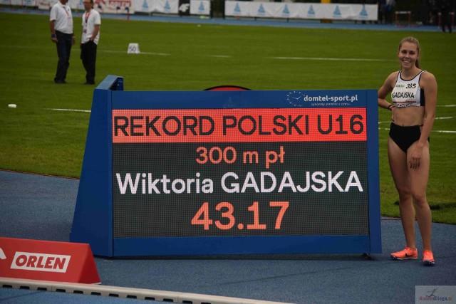 Wiktoria Gadajska mistrzynią Polski