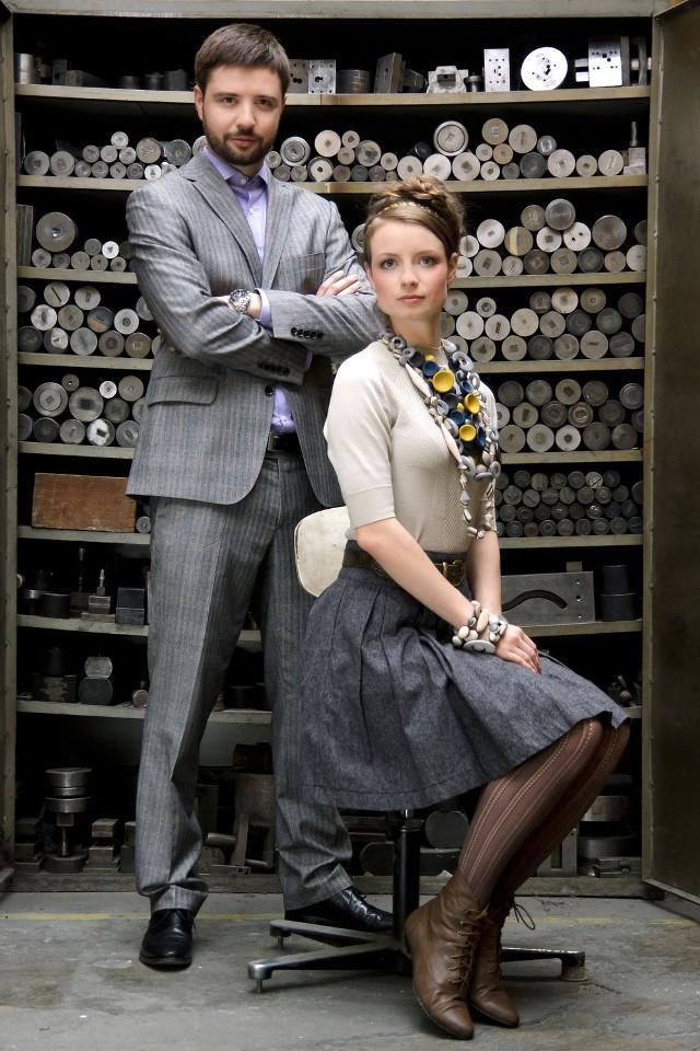 Anna i Wojciech jr Kruk - rodzinny biznes budują od nowa