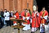 Niedziela Palmowa 2019 w archikatedrze w Białymstoku. Przyszły tłumy wiernych [ZDJĘCIA, WIDEO]