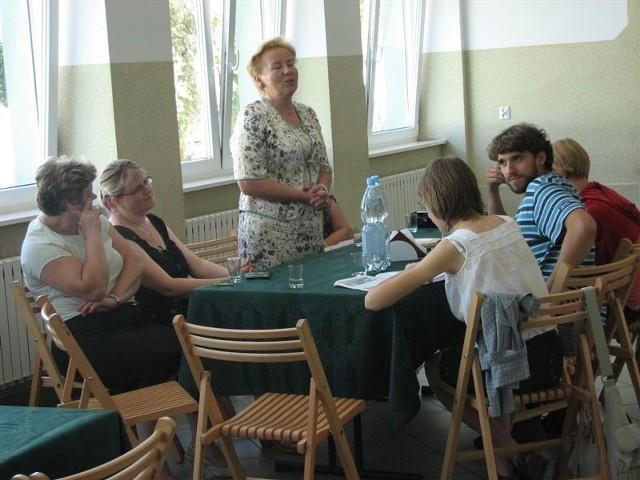 Barbara Kiljańczyk przyjechała na warsztaty z Ciechanowa.