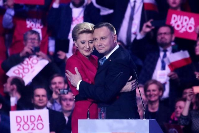 Andrzej Duda inaugurujący kampanię wyborczą