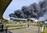 """Niemcy: Wybuch i pożar w zakładach chemicznych w Leverskusen. Są poszkodowani. IMGW: """"Smuga zanieczyszczeń dotrze do granic Polski"""""""