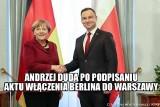 Angela Merkel: Memy po wizycie w Polsce zalały internet [ZOBACZ MEMY]