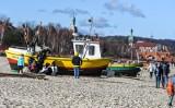 Spacery nad morzem w ostatni weekend lutego! Pogodne dni i tłumy na plażach
