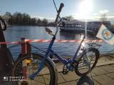 Paweł Tomczyk z Gubina wyremontował stary rower i zwiedza nim świat... w przerwach od pracy