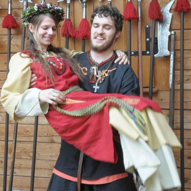 Byczyna: Europejskie Dni Dziedzictwa. Turniej rycerski w grodzie w Biskupicach.