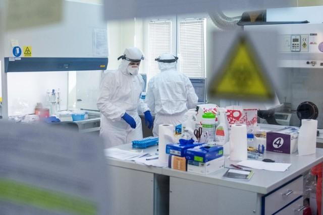 W Wielkopolsce testy na obecność koronawirusa przeprowadza 7 laboratoriów.