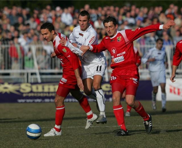 Odra Wodzisław przez 14 sezonów grała w piłkarskiej ekstraklasieZobacz kolejne zdjęcia. Przesuwaj zdjęcia w prawo - naciśnij strzałkę lub przycisk NASTĘPNE