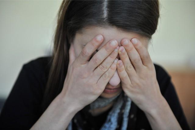 13.10.2014. rzeszow .  przemoc molestowanie patologia depresja fot bartosz frydrych / nowiny