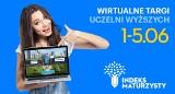 Wirtualne Targi Indeks Maturzysty (1-5.06.2020). Odwiedź uczelnię, nie wychodząc z domu!