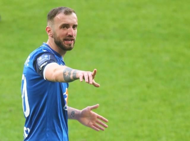 Nika Kwekweskiri przedłużył kontrakt z Lechem Poznań o dwa lata