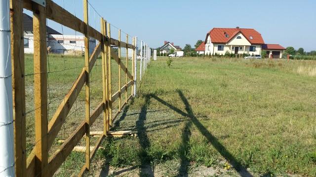 Ulica Pogodna w Mierzynku (powiat toruński). O nadanie nazwy temu terenowi wyszli mieszkańcy