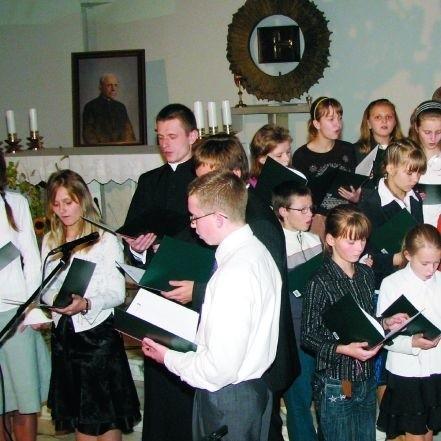Uczniowie przygotowali się do sztuki najlepiej, jak mogli. To było wszak o Janie Pawle II i w Seminarium
