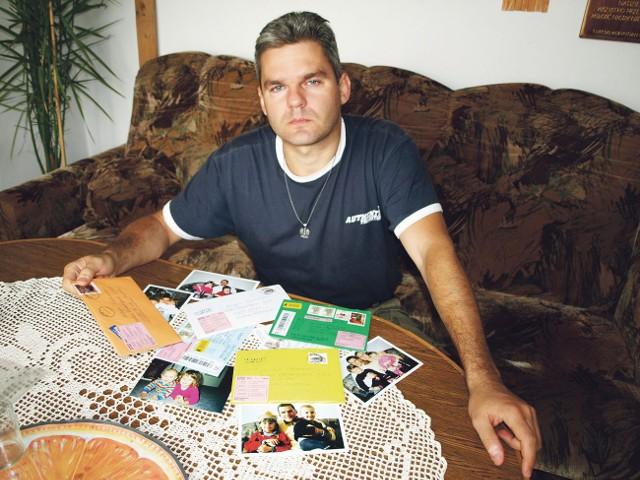 Wojciech Pomorski o prawo spotkań z córkami walczy już osiem lat, niestety, bezskutecznie