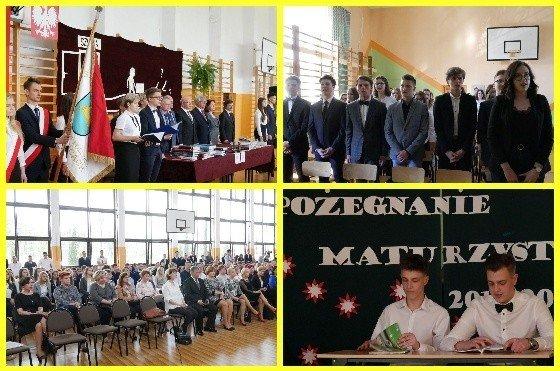 58b030c50e Maturzyści ze szkół średnich w Kozienicach zakończyli rok szkolny. Prawie  300 absolwentów 4 maja zacznie egzamin dojrzałości
