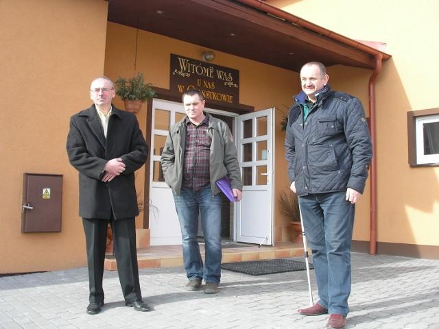 - O salę dbamy jak o własny dom - podkreśla Ryszard Sikora (pierwszy z prawej)