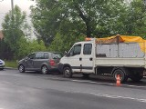 Wypadek na skrzyżowaniu ulic 3 Maja i Niegłowickiej Jaśle. Ucierpiała kobieta i dziecko. Sprawca był pijany [ZDJĘCIA]