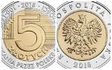 Nowa moneta 5 zł już w obiegu. Narodowy Bank Polski uczci w ten sposób setną rocznicę odzyskania przez Polskę niepodległości
