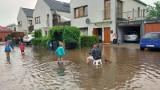 Ulewne deszcze we Wrocławiu. Wiele ulic znalazło się pod wodą [FILMY, ZDJĘCIA]