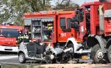 Oświęcim. Śmiertelny wypadek na drodze krajowej 44, nie żyją dwie osoby